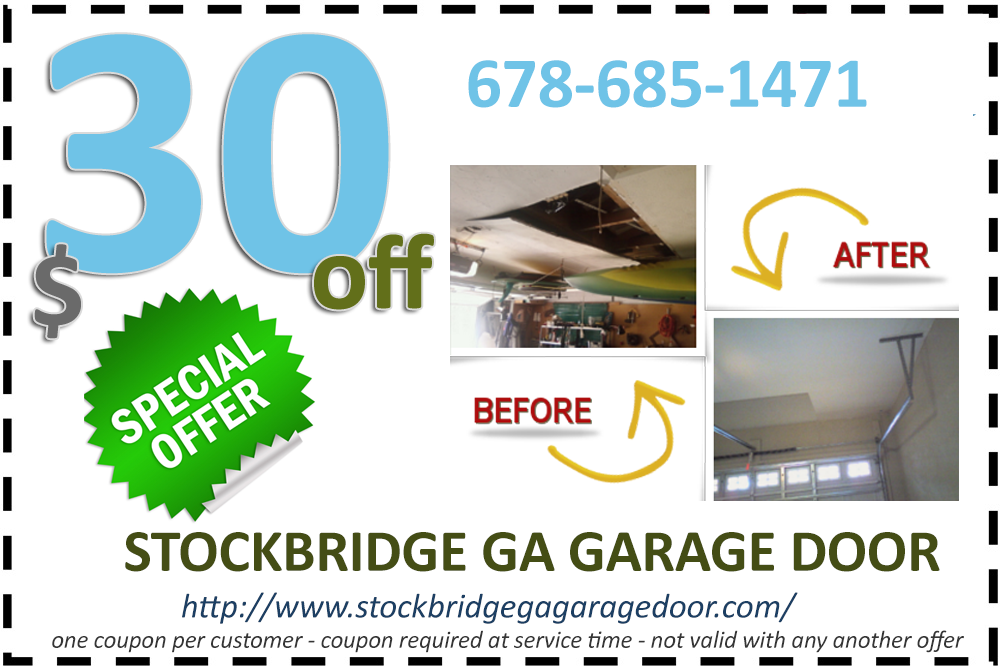 Stockbridge GA Garage Door Special Offer